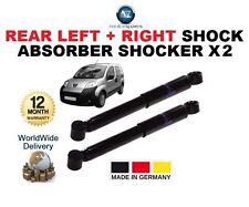 FOR PEUGEOT BIPPER TEPEE 2008-ON REAR LEFT + RIGHT SHOCK ABSORBER SHOCKER X2