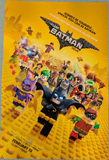 THE LEGO BATMAN MOVIE poster 11.5x17 Will Arnett Michael Cera Rosario Dawson