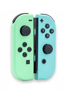 Joy Con Controllers Animal Crossing Theme W/ STRAPS for the Nintendo Switch