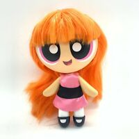 "Cartoon Network The Powerpuff Girls 6"" Deluxe Doll Figure Brushable Hair Blossom"