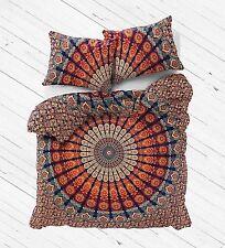 Decorative Mandala Duvet Cover Throw Indian Boho Quilt Doona Cover Bedding Set