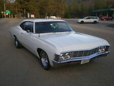 1967 Chevrolet Impala 67 IMPALA NO RESERVE MUNCIE 4 SPEED HOT ROD 350 HP