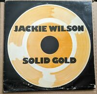 Jackie Wilson Solid Gold 2 LP Brunswick Records G III Compilation Stereo