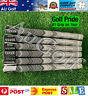 GENUINE Golf Pride Jumbo Size Grey MCC Plus4 Grips - Set of 6 - Aussie Stock