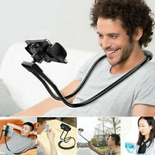 360° Necklace Lazy Bracket Neck Hanging Phone Tablet Holder For 4-10'' Devices