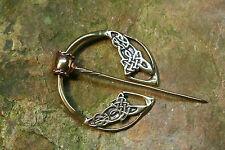 Keltische Ringfibel Bronze Keltische Knoten  Kelten Wikinger Mittelalter groß