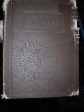 Muncie Central High School 1925 Magician yearbook year book Annual leather bound