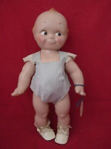 13IN ROSE O'NEILL COMPOSITION KEWPIE DOLL, EXC COND