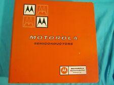 Motorola Semiconductor Reference Book Binder