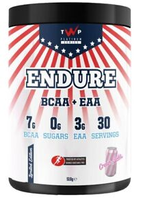 TWP ENDURE EAA/BCAA  BODYBULDING SUPPLEMENT 💥NEW CREM SODA 💥DELIVERY NEXT DAY