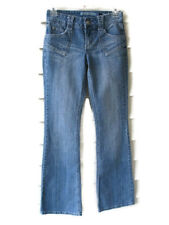 Mudd Womens Jeans Size 0 Flare Low Rise Stone Washed Light Stretch Spandex