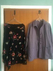 Kleiderpaket 42 Damen 8+1 Teile, Jacke, Rock, Hose, Bluse, Blazer