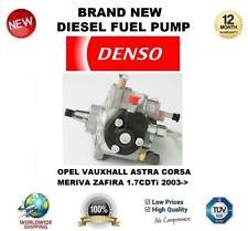 DENSO Diesel Pompa Carburante Per Opel Vauxhall Astra Corsa Meriva Zafira 1.7 CDTI 2003 >