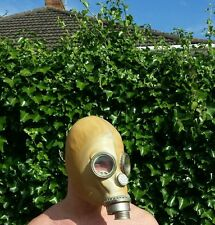 "RUSSIAN NBC GAS MASK  ,,monkey face"" yellow gas mask"