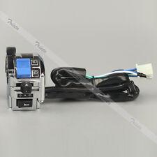 "Motorcycle 7/8"" Handlebar Horn Turn Signal Light Hi/Lo Beam Left Switch #C3"