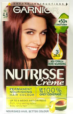 GARNIER NUTRISSE CREME 4.6 MORELLO CHERRY DEEP RED HAIR COLOUR