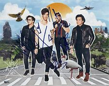 American Authors signed 8x10 photo - Rock Band, Best day of My Life, Zac Barnett