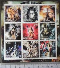 2001 luis royo fantasy women m/sheet MNH