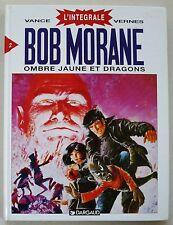 Bob Morane Intégrale T 2 Ombre Jaune et Dragons VERNES & VANCE éd Lombard 1995
