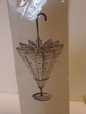 Vintage Metal Umbrella Napkin Holder