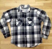 Vintage Five Brother Lg/xl STURDY flannel Shirt Work Chore Farm Logger Excellent