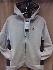 e0ffb5b4014 Browning Buckmark Womens Delano Jacket Hoodie Gray   Mossy Oak Camo