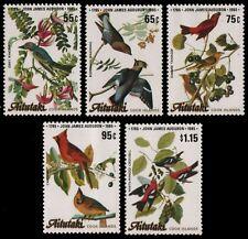 Aitutaki 1985 - Mi-Nr. 554-558 ** - MNH - Vögel / Birds - Audubon