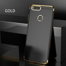 For Huawei Honor 7X Luxury Ultra Thin Crystal Bumper Tpu Clear Back Case Cover