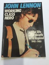 BEATLES JOHN LENNON WORKING CLASS HERO THE LIFE AND DEATH OF A LEGEND Magazine