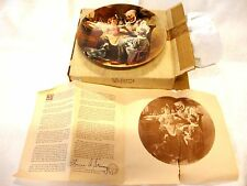 "Norman Rockwell 1St Edition ""Toymaker"" 1977 ""Heritage Collection"" Plate Knowles"