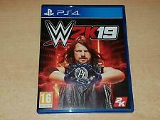 WWE2K19 (PS4 GAME)