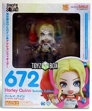 """In STOCK Good Smile Company """"Harley Quinn"""" Suicide Squad Nendoroid Action Figure"""