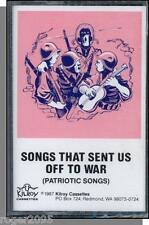 Songs That Sent Us Off To War (WW II) - New 1987 Cassette Tape!