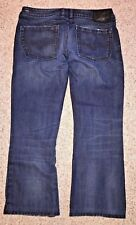 Diesel Industry Mens Jeans Blue Zathan Bootcut Button Fly Relax Size 34 X 27.5