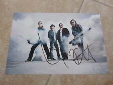 Metallica Lars & Kirk Signed Autographed Promo 8x12 Photo Beckett Certified