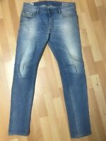 Men Diesel SLEENKER STRETCH Denim 0666R BLUE EX SLIM W31 L32 H6 RRP£150