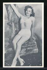SUSAN HAYWARD Original 1950s Cheesecake Arcade Exhibit Card NEAR MINT
