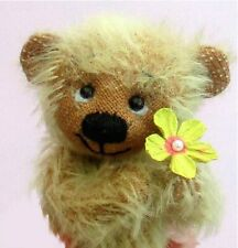 """Jem mohair bear sewing KIT .  Makes 6 """" ted"""