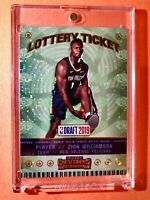 Zion Williamson ROOKIE INSERT PANINI CONTENDERS LOTTERY TICKET SPARKLE RC Mint!