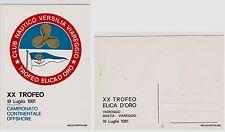 # SPORT - NAUTICA: XX TROFEO  ELICA D'ORO - VIAREGGIO 1981