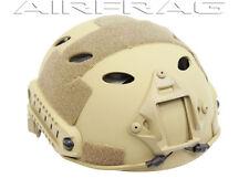 Spartan Imports Tactical Head Gear PJ-Style with Shroud and Rail - Dark Earth