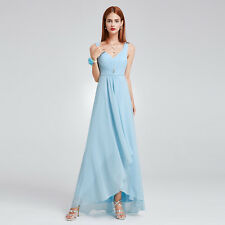 Ever-Pretty V Neck Homecoming Holiday Party Maxi Dress 09983 Size 4 Sky Blue 16