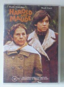 HAROLD AND MAUDE dvd RARE OOP ruth gordon REGION 4 bud cort SUICIDE comedy 1971