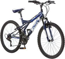 Pacific Evolution 24 Inch Boy's Mountain Bike Linear Pull Brakes 18 Speeds Black