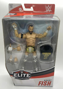 WWE ELITE BOBBY FISH CHASE FIGURE SERIES 79 WRESTLING NXT UNDISPUTED ERA AEW DMG
