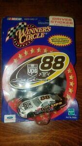 Dale Jarrett 2001 UPS 1:64 Winners Circle diecast with sticker