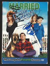 MARRIED WITH CHILDREN box set 4TH SEASON  AUTOGRAPHED BY ALL 4 CAST MEMBERS COA