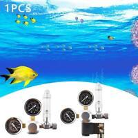 1x  Aquarium Fish Tank 2 Gauge CO2 Regulator Bubble Counter Solenoid Valve