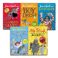 David Walliams Collection 5 Books Set Gansta Granny, Billionaire Boy, Ratburger