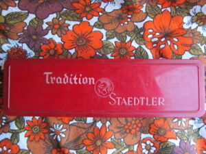 Vintage Boxed Staedtler Tradition Pencils 2H School Drawing Sketching Art Scarce